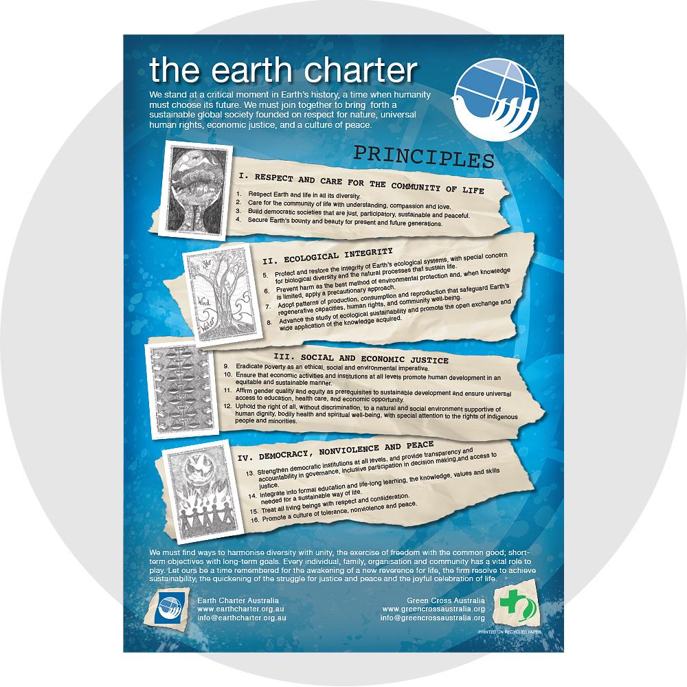 Portfolio - Design - Earth Charter